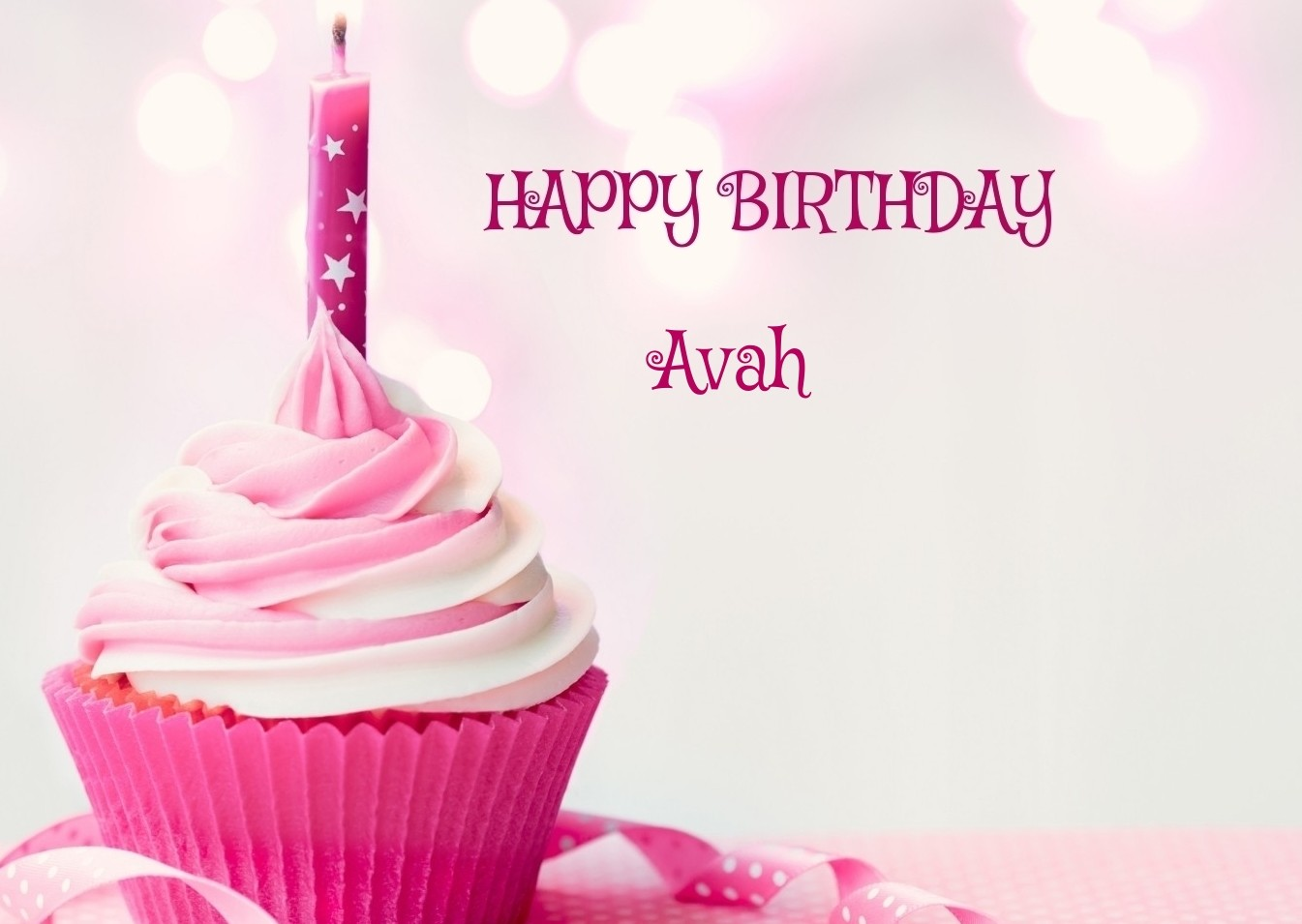 Happy Birthday Avah